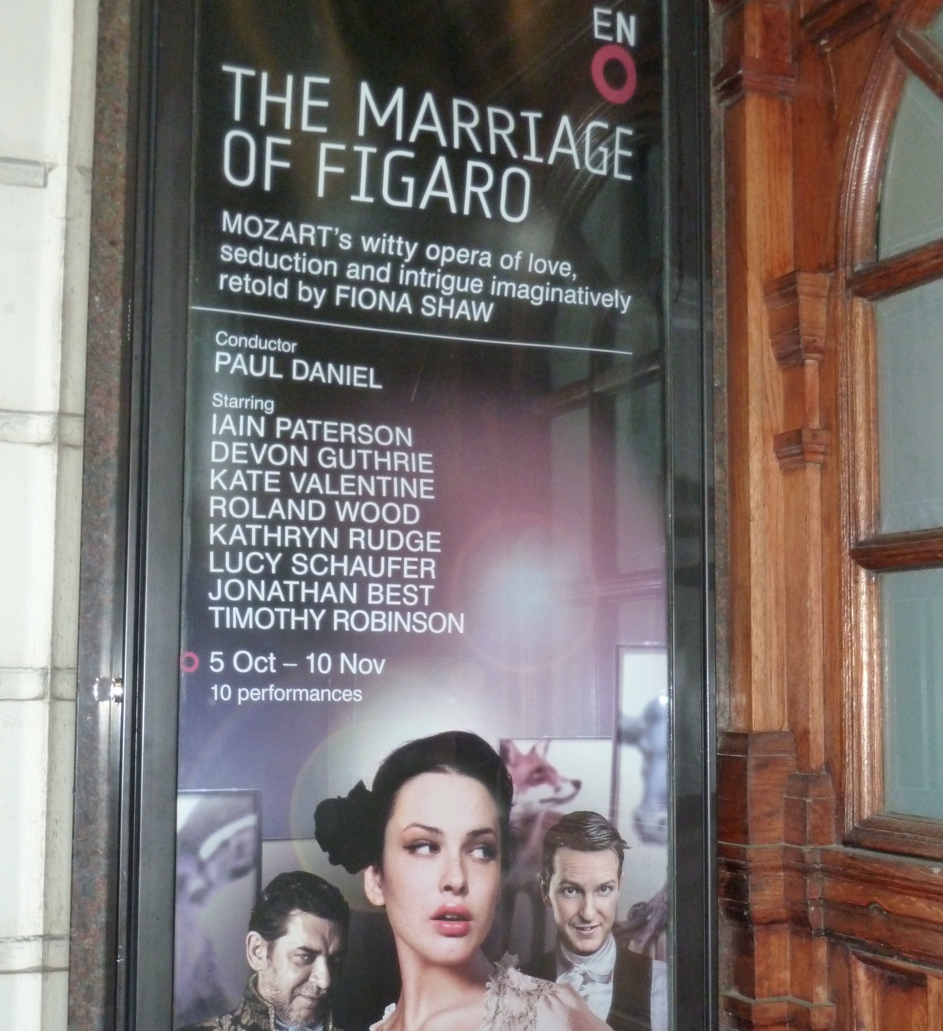 Marriage of Figaro Trailer