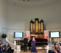 Song Recital at the Oxford Lieder Festival 2017