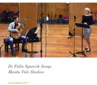 Recording: De Falla Spanish Songs
