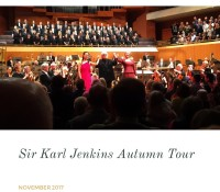 Karl Jenkins Autumn Tour
