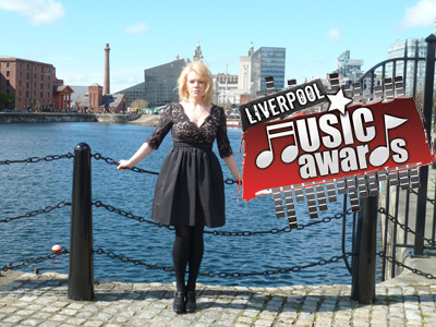 Kathryn nominated for Female Artist of the Year at the Liverpool Music Awards