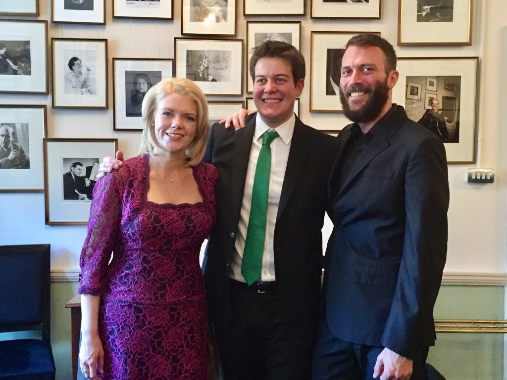 wigmore Hall Kathryn Rudge James Baillieu Gary Pomeroy