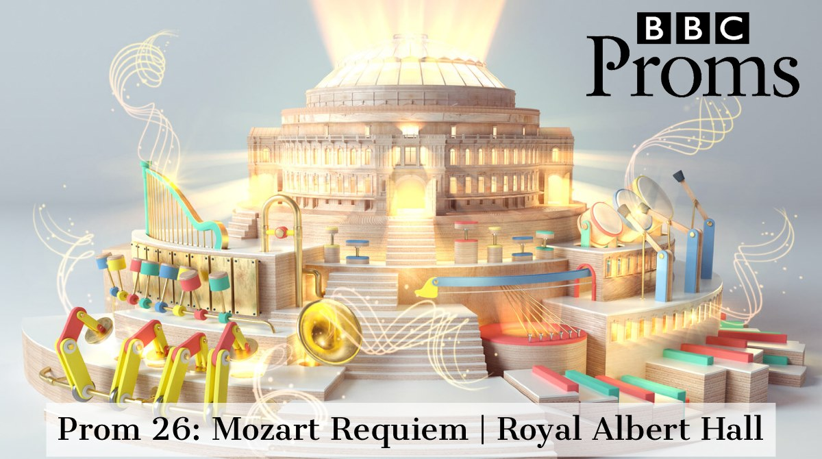 BBC Proms: Royal Albert Hall 7th August 2019