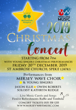 Mersey Wave Music Christmas Concert
